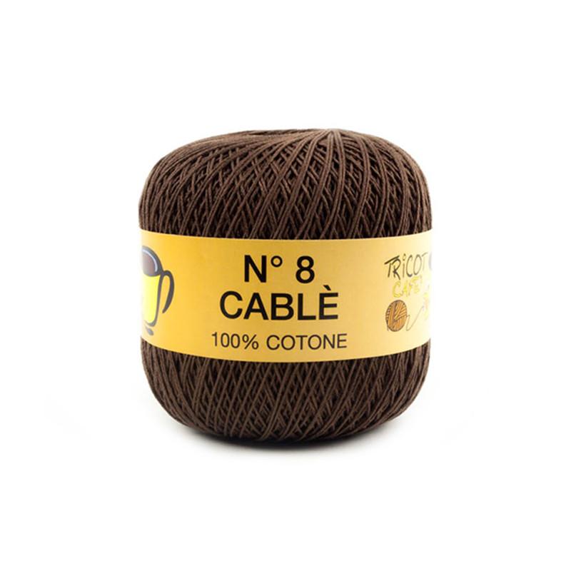Cable 8 Marrone Scuro 9461