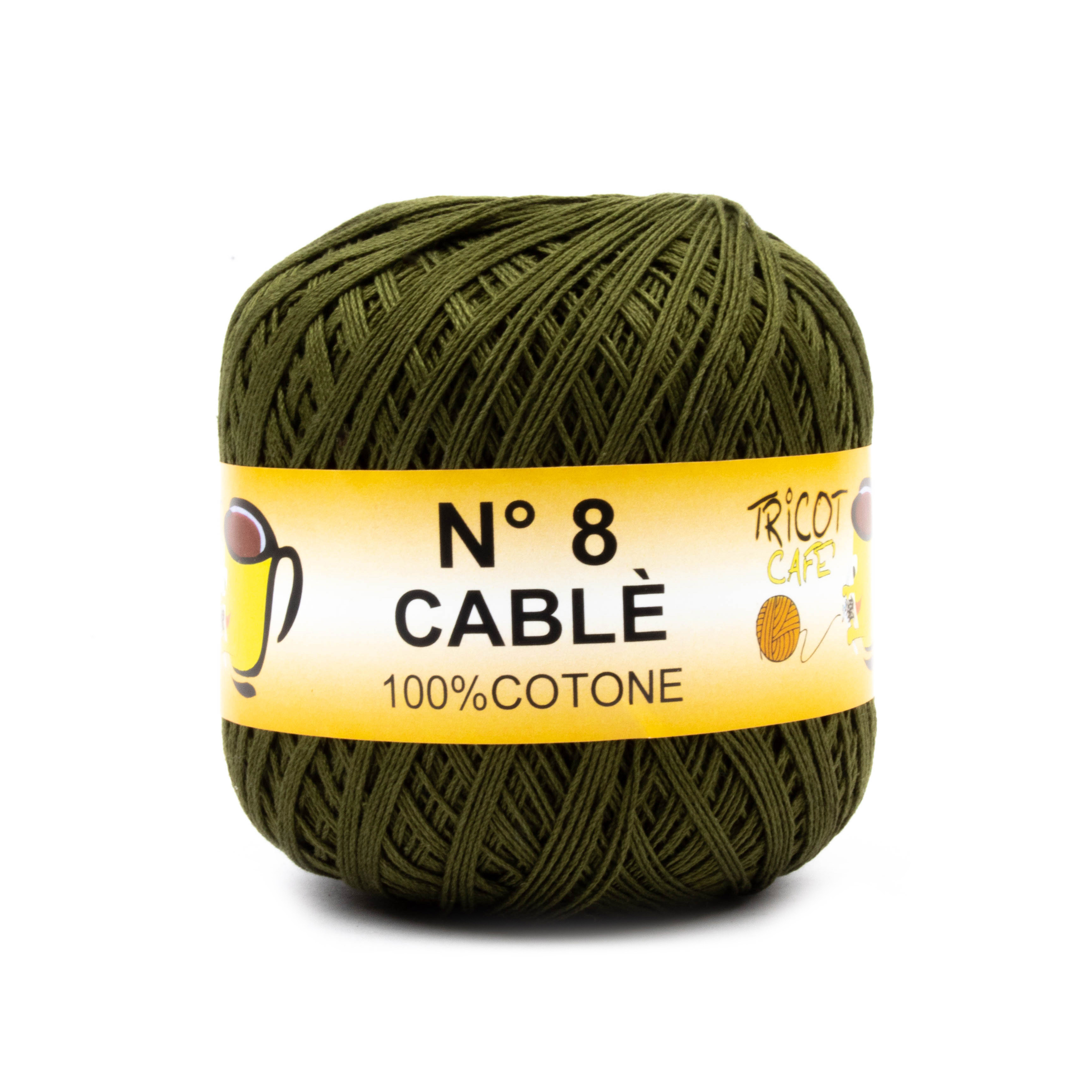 Cable 8 Verde Oliva 90468