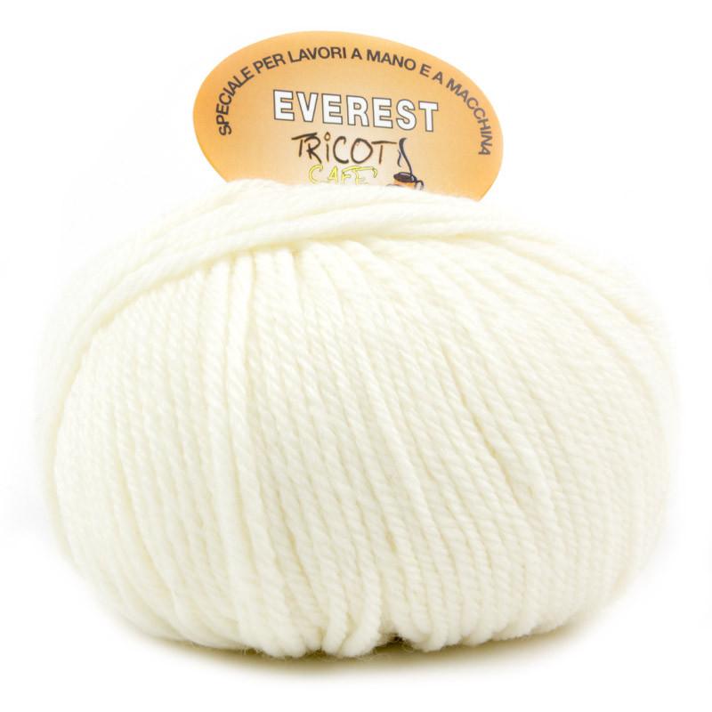 Everest - Filato misto lana ideale per progetti che durano tempo - Panna 2