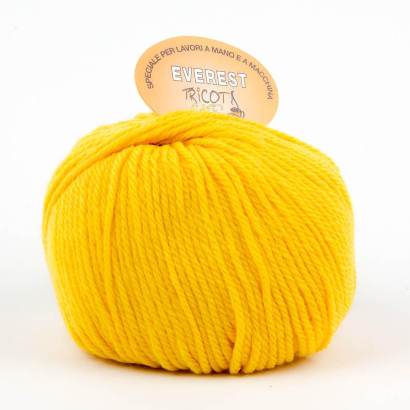 Everest - Filato misto lana ideale per progetti che durano tempo - Giallo 17