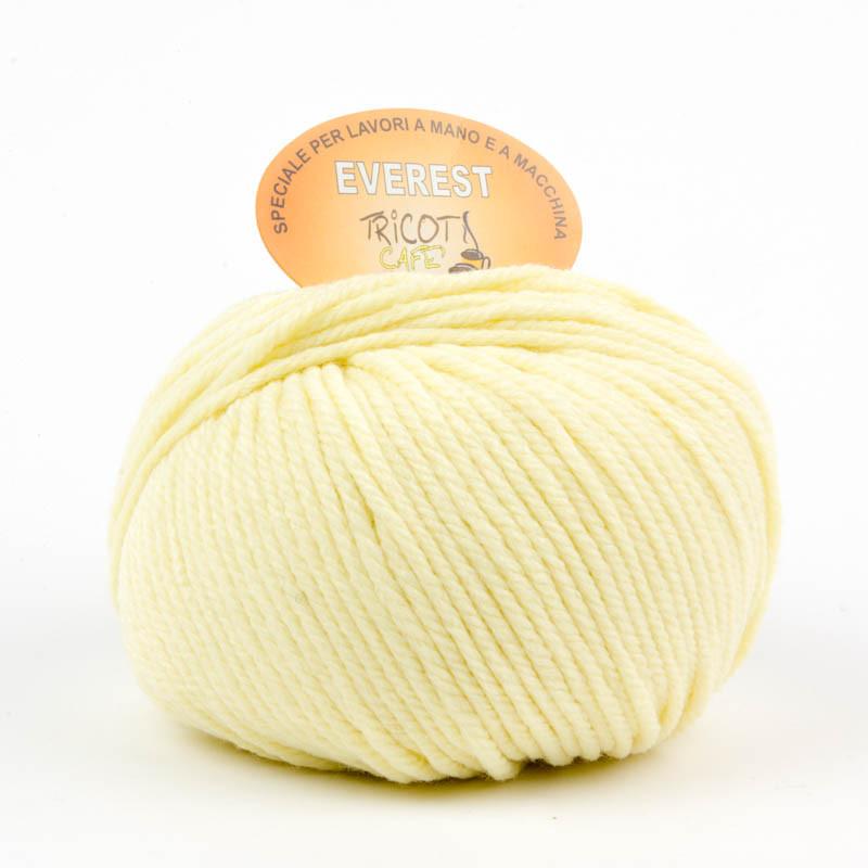 Everest - Filato misto lana ideale per progetti che durano tempo - Giallo Baby 7392