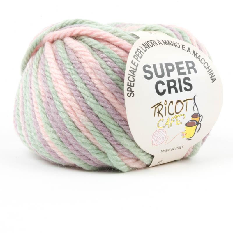 Super Cris - il fratello maggiore di tutti i misti lana - Misto Verde Rosa 61