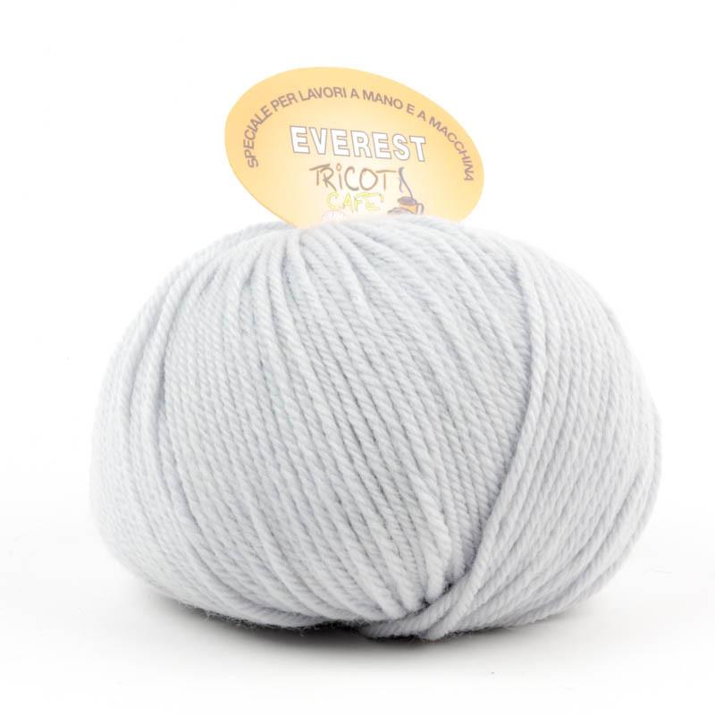 Everest - Filato misto lana ideale per progetti che durano tempo - Grigio Perla 33