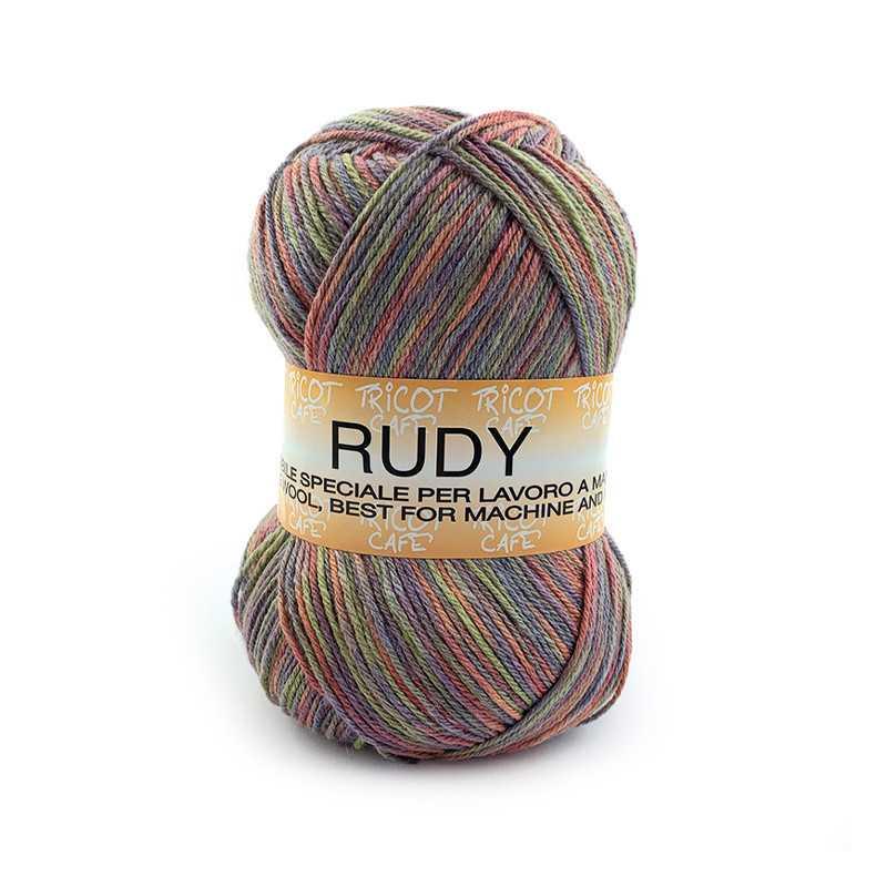 Rudy - Filato misto lana ideale per ogni tipo di lavorazione - Multicolore 119