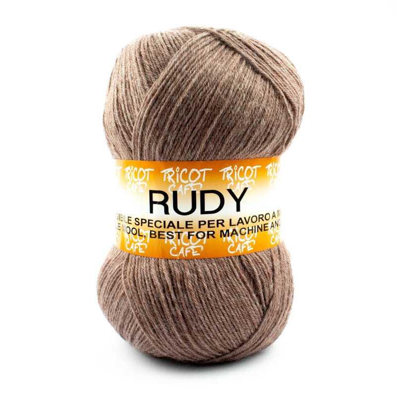 Rudy - Filato misto lana alpaca da 250gr - Noce 8