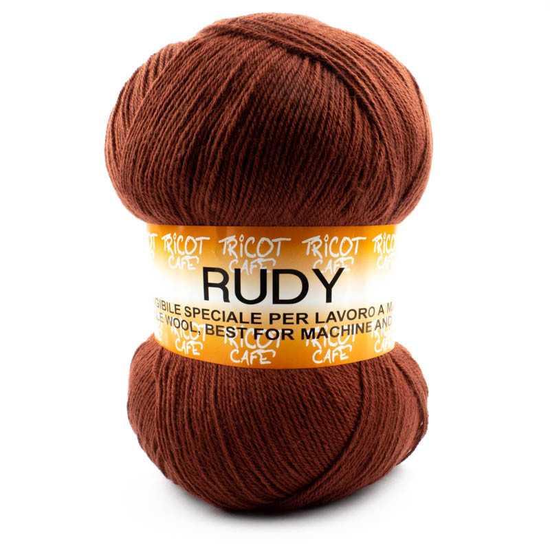 Rudy - Filato misto lana alpaca da 250gr - Marrone 8309