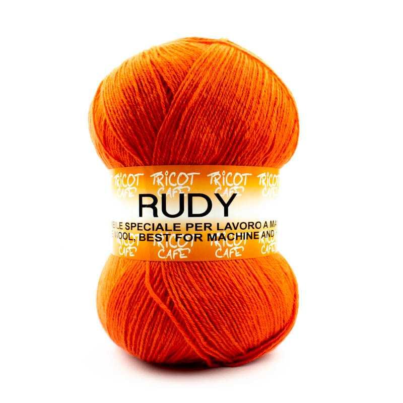 Rudy - Filato misto lana alpaca da 250gr - Arancione 914