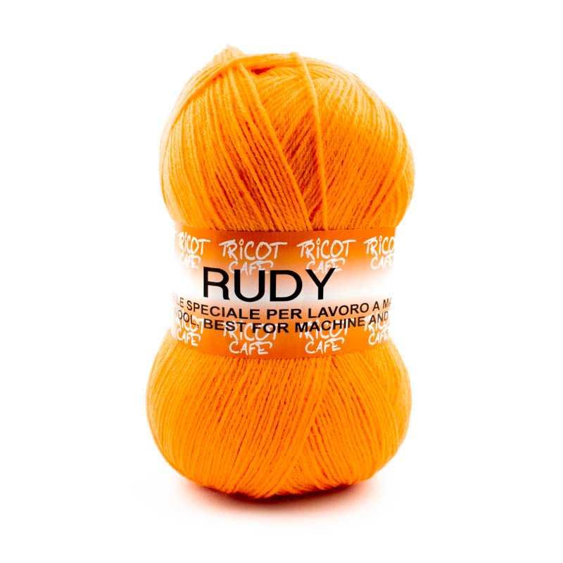Rudy - Filato misto lana alpaca da 250gr - Mandarino 1014