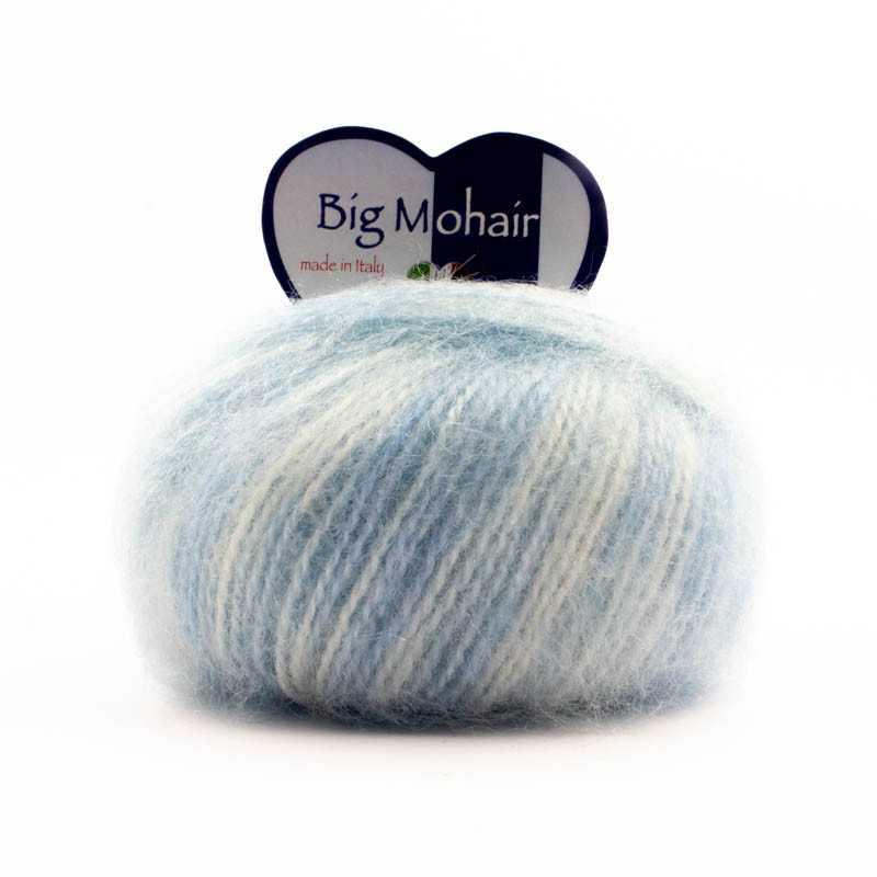 Big Mohair Misto Azzurro 102