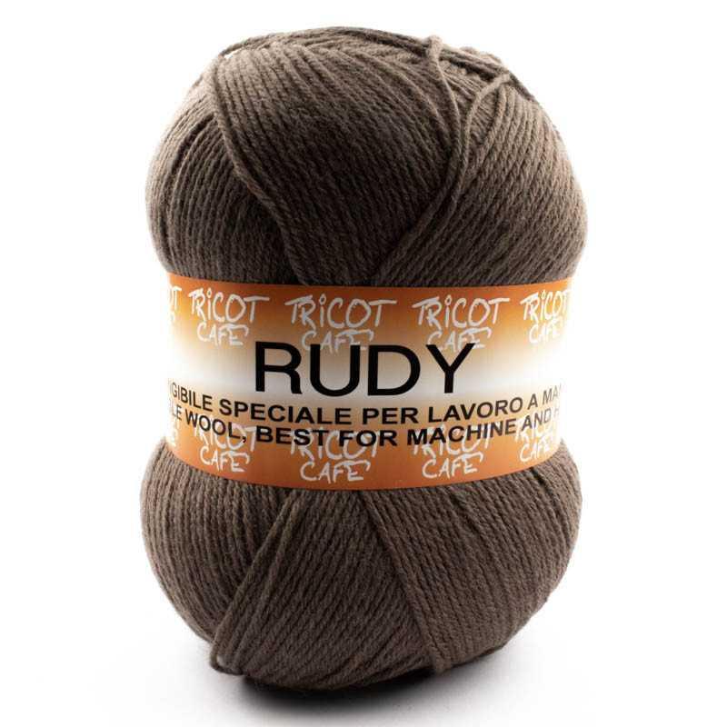 Rudy - Filato misto lana ideale per ogni tipo di lavorazione - Noce Scuro 7368