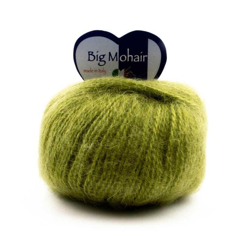 Big Mohair Verde Acido Scuro 20