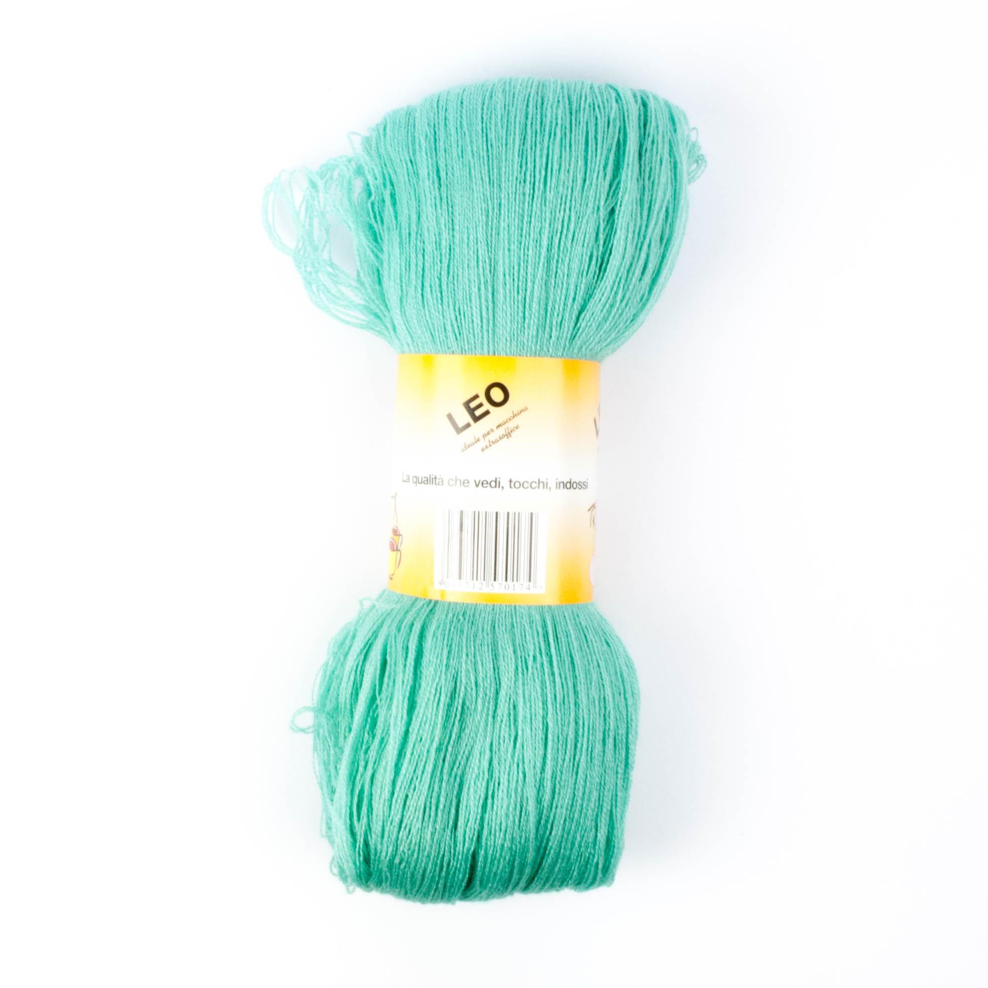 Leo - Matassa misto lana ideale per lavori a mano e macchina - Tiffany 13