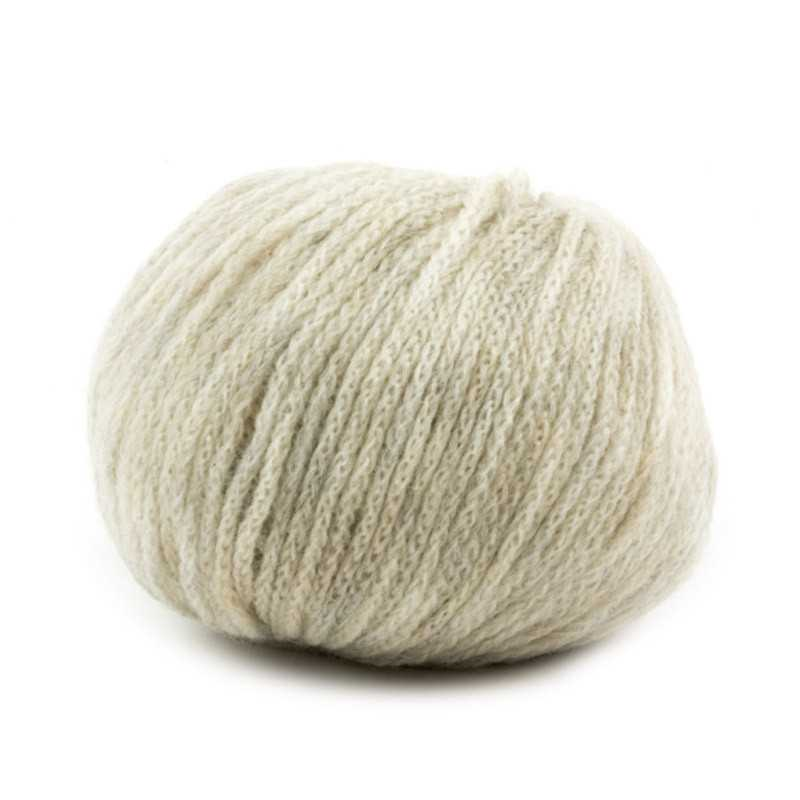 Cachemire Fine - filato misto lana merinos e cashmere - Beige 59 senza etichetta