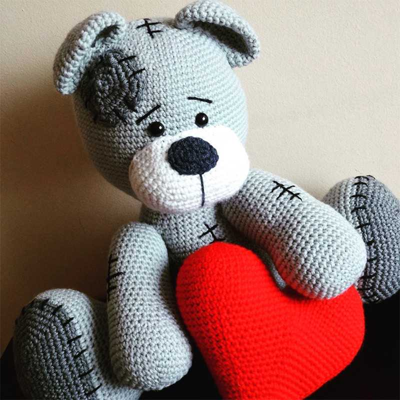 Kit Pattern Orsetto Teddy (50 x 60 cm)