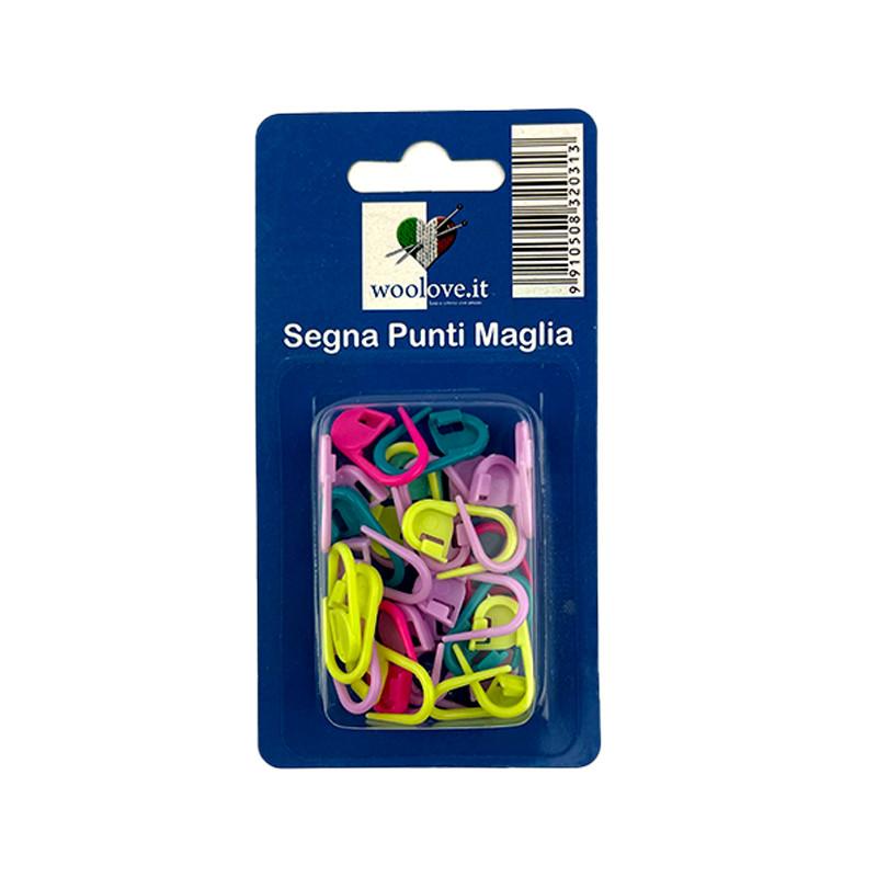 Graffette Segna Punti Maglia Plastica 24pz