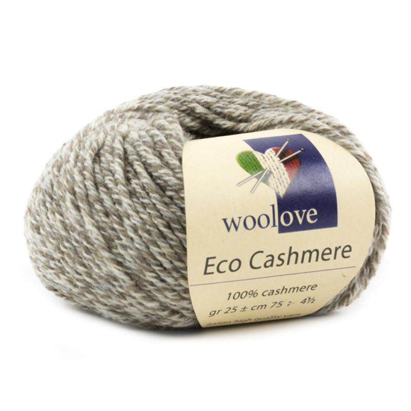 Eco Cashmere Noce-Panna