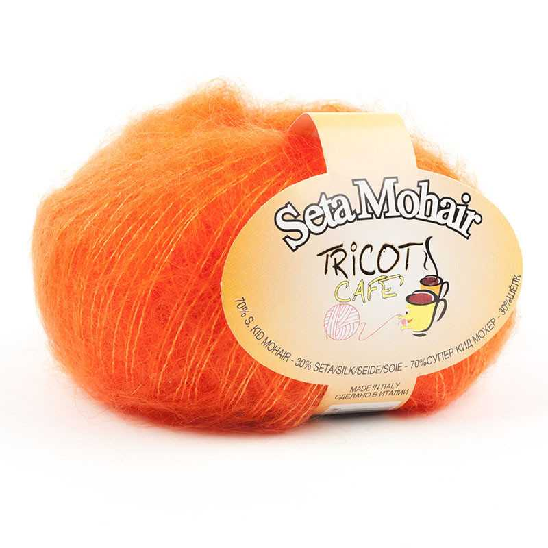 Seta Mohair Arancione