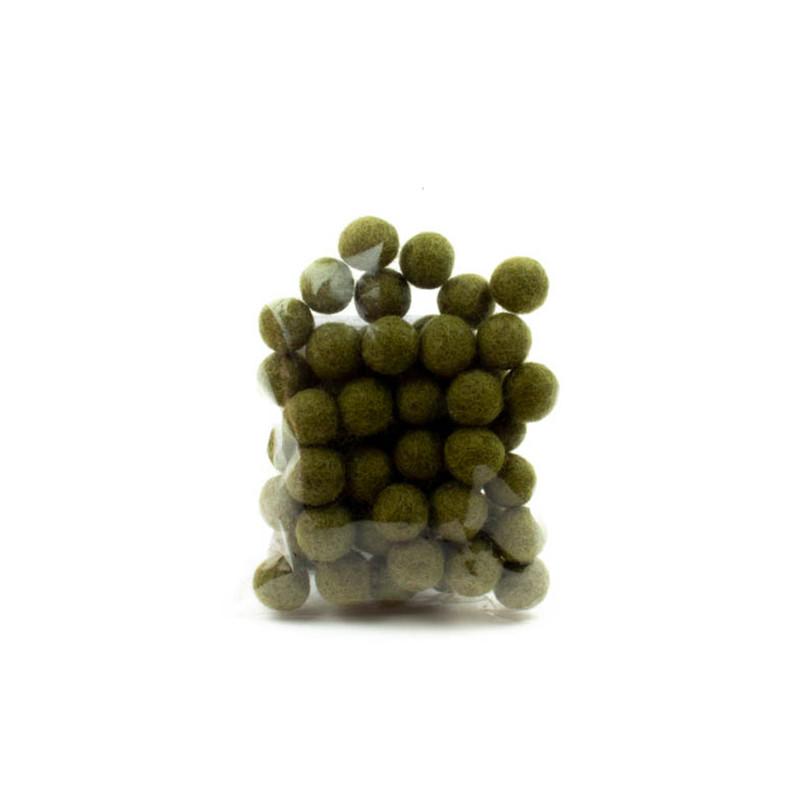 Palline Verde 1,5cm