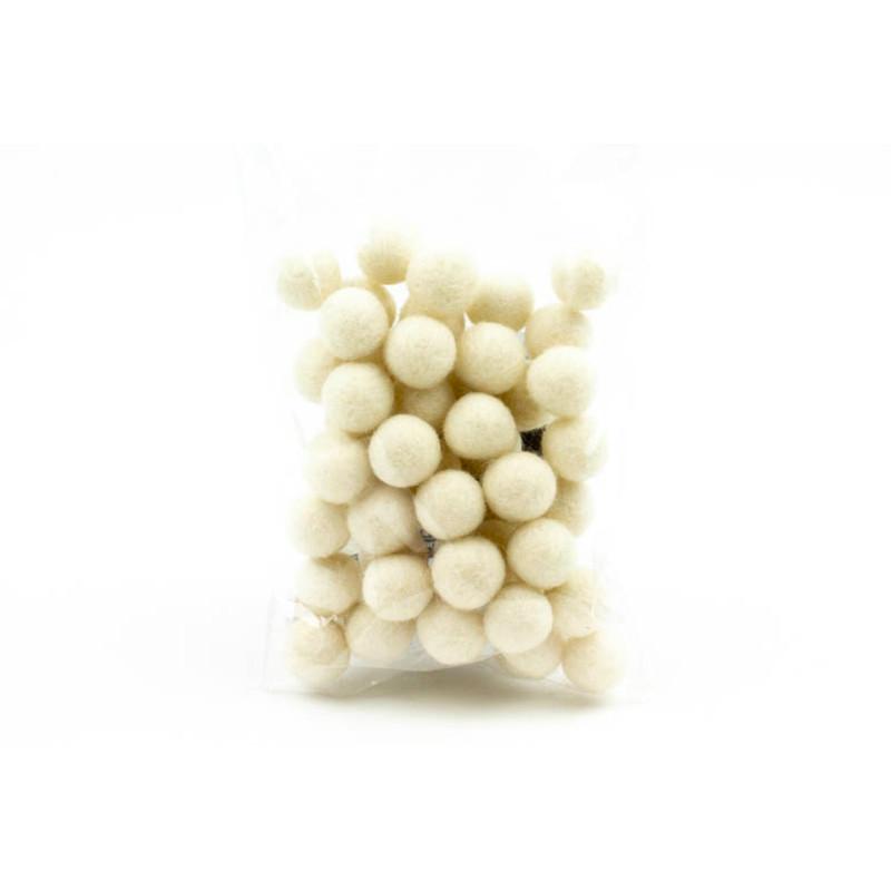 Confezione Palline Bianco 1,5 cm