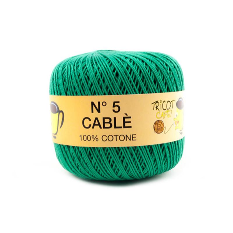Cablè 5 - Filato Puro Cotone ideale per uncinetto e amigurumi