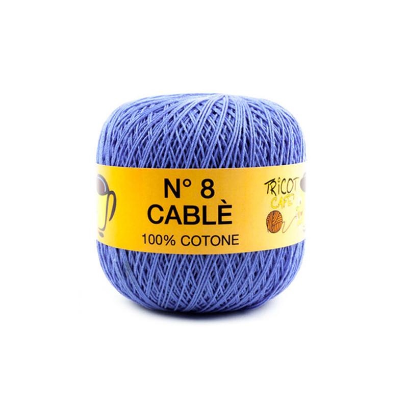 Cable 8 - Filato Puro Cotone mercerizzato ideale per uncinetto