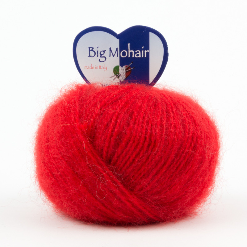 Big Mohair Rosso