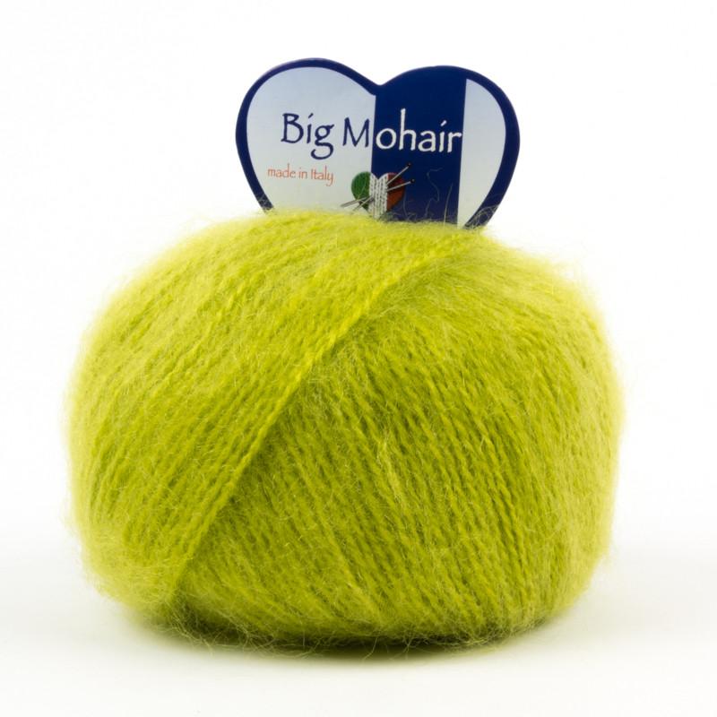 Big Mohair Verde Acido