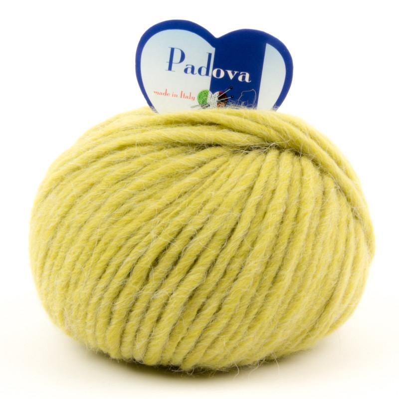 Padova - Filato Misto Lana E Alpaca Ideale Per Uncinetto - Verde Acido 089