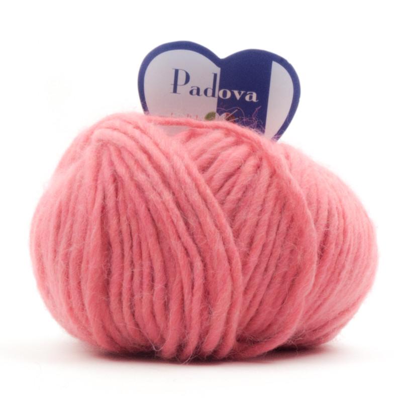 Padova - Filato Misto Lana E Alpaca Ideale Per Uncinetto - Rosa 6