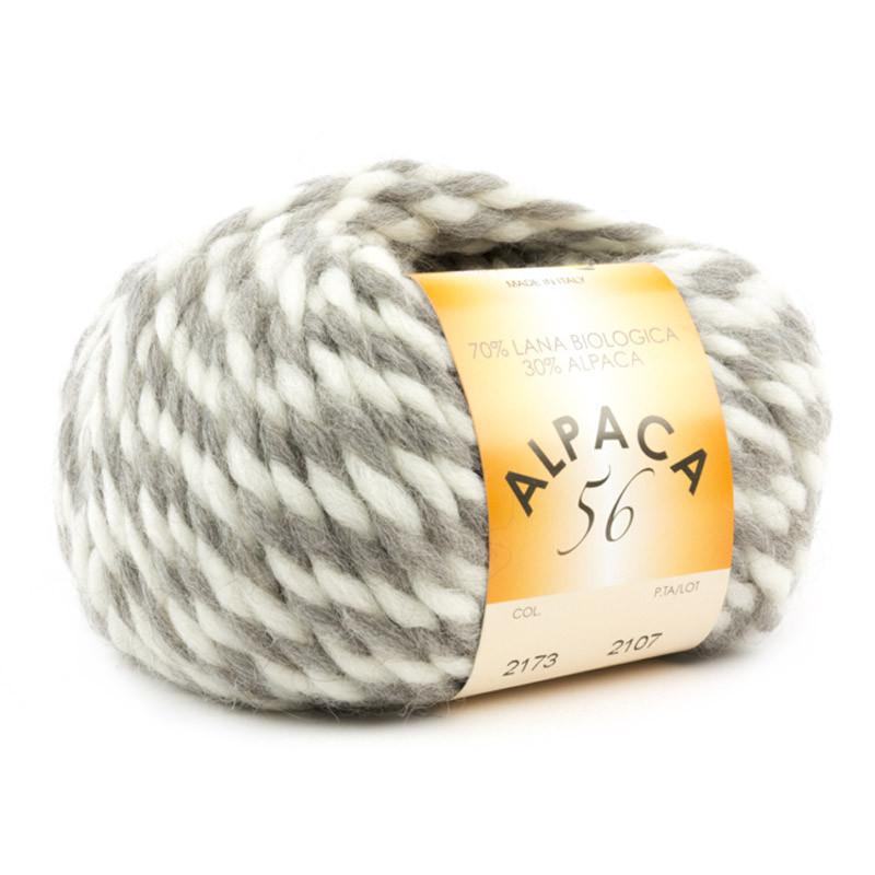 Alpaca 56 Bianco-Grigio