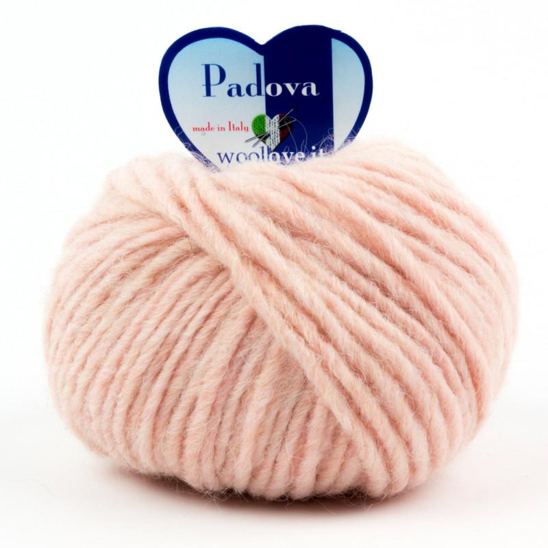 Padova - Filato Misto Lana E Alpaca Ideale Per Uncinetto - Rosa Carne 5