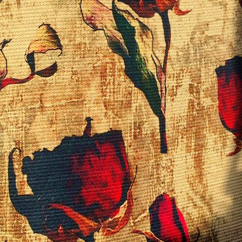 Tessuto Lana Viscosa  Rose
