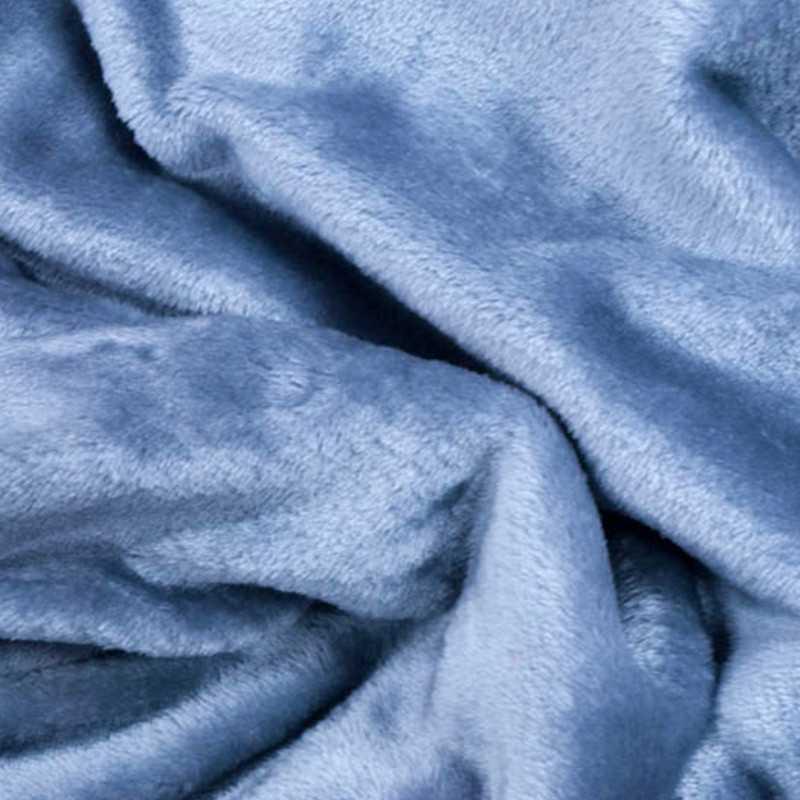 Tessuto al metro in morbido Pile effetto Pelliccia Grigio
