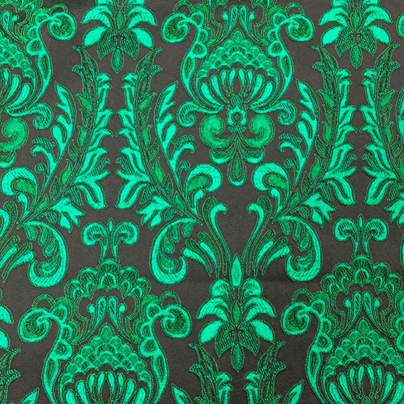 Tessuto tipo D&G Damascato Verde