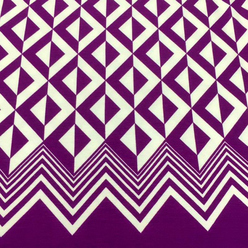 Tessuto Jersey Viola
