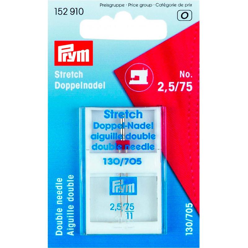 Aghi macch.gemelli 130/705H-S Stretch 75mm/2,5mm