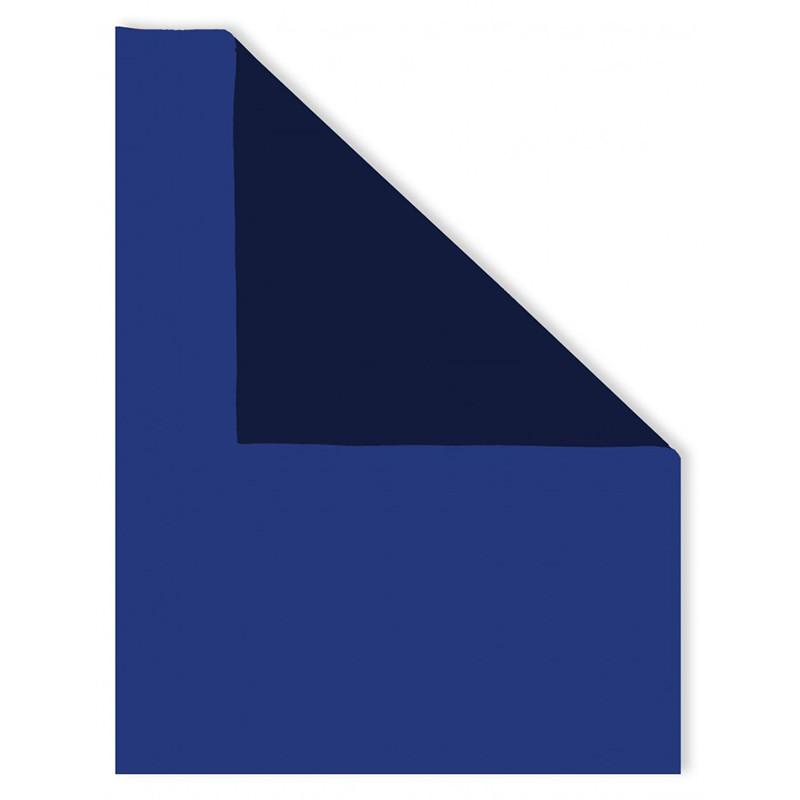 Neoprene bicolore Blu-Bluette
