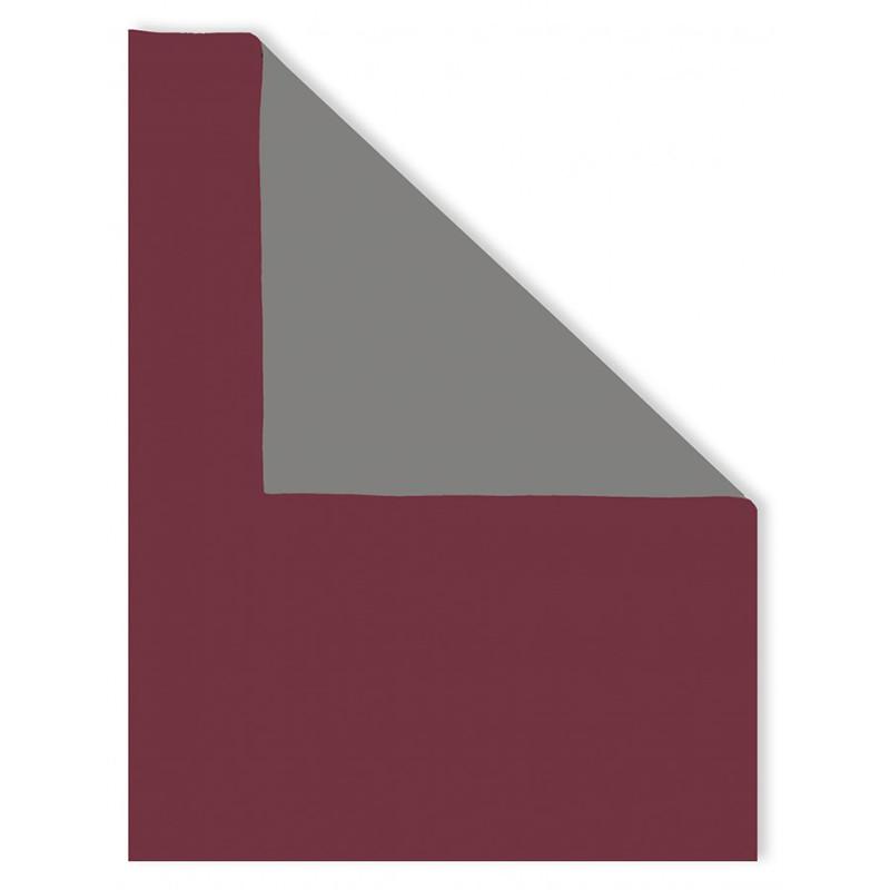 Neoprene bicolore Vinaccia Tortora