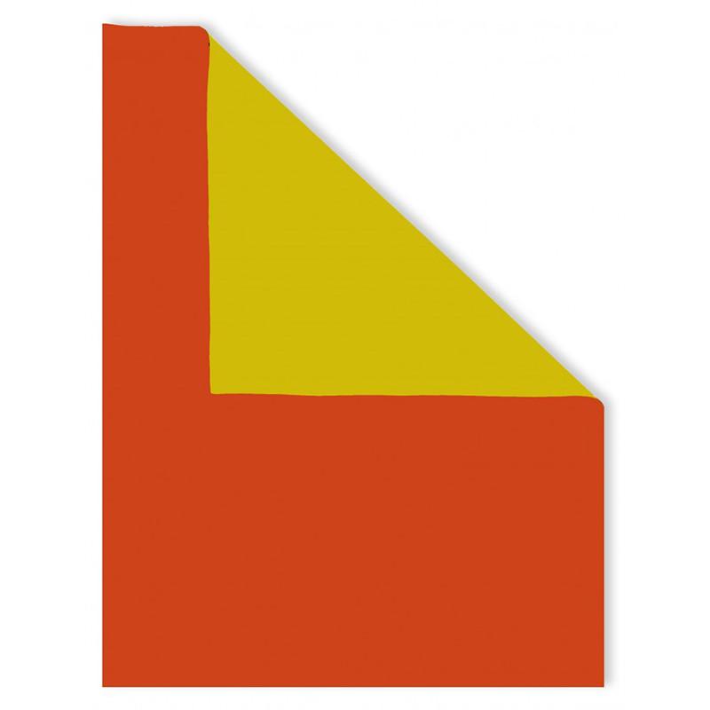 Neoprene bicolore Arancio Giallo