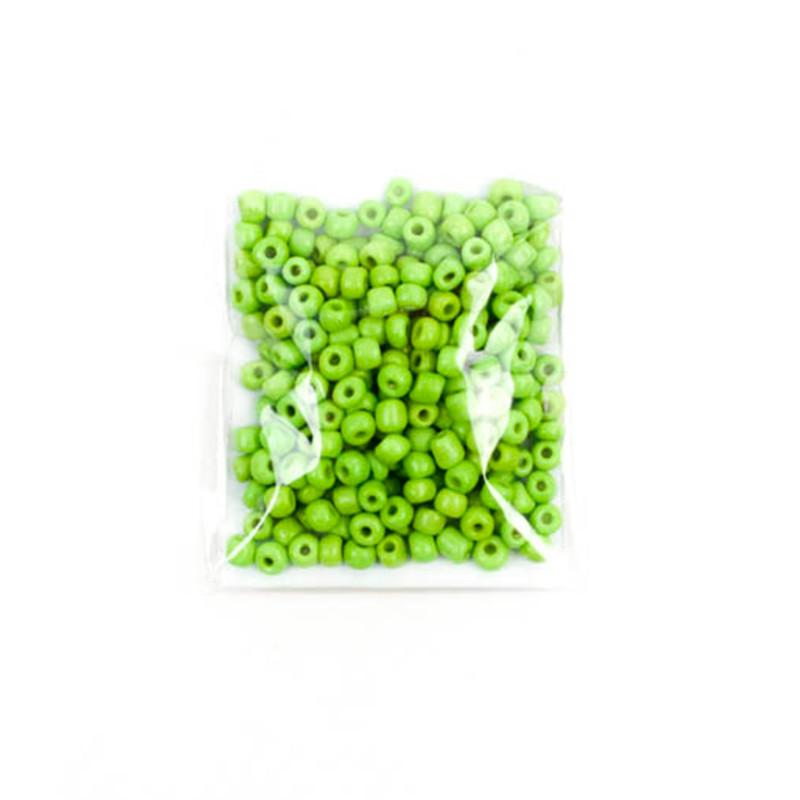 Conteria Ceramica Indiana 12 Verde Acido