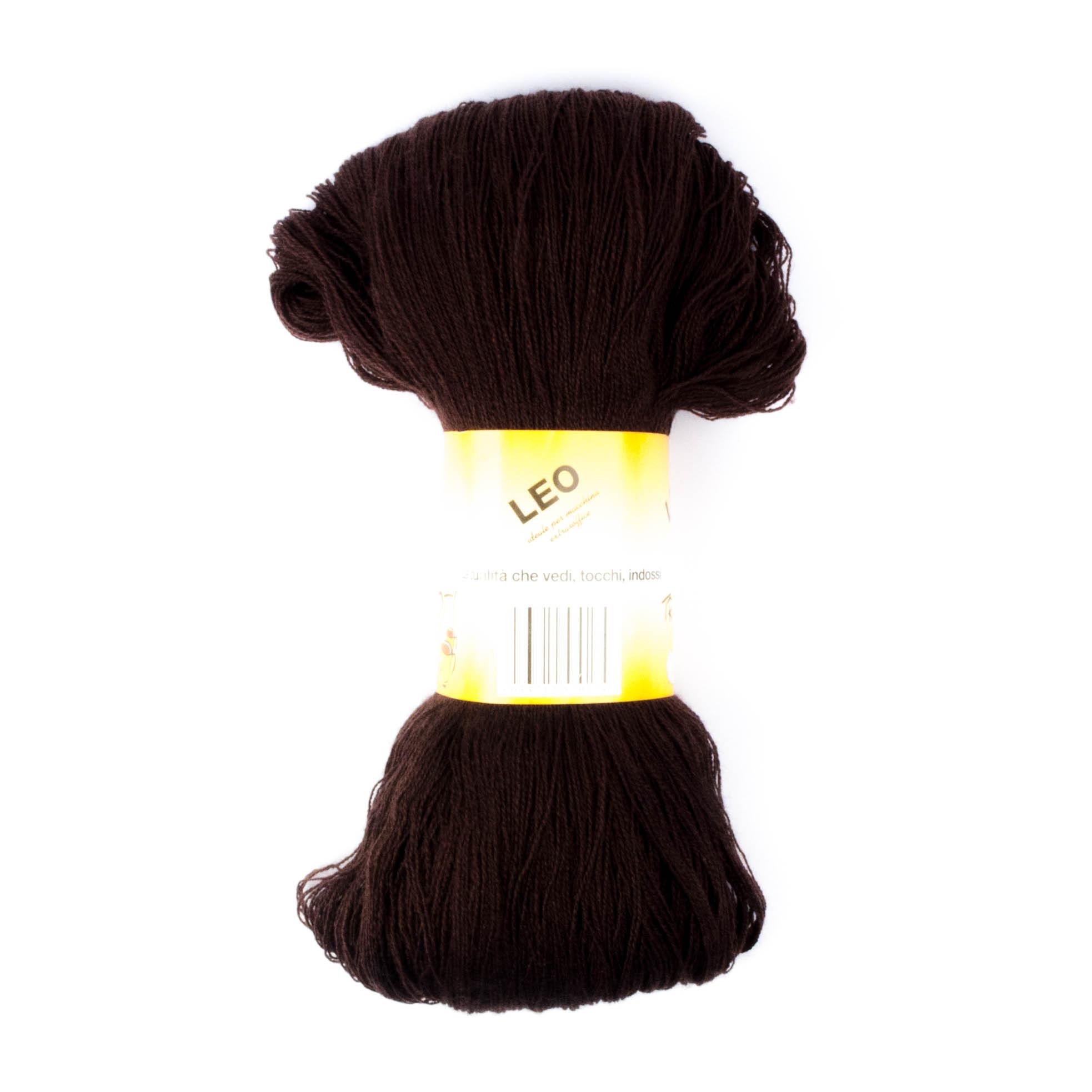 Leo - Matassa misto lana ideale per lavori a mano e macchina - Testa di Moro 13