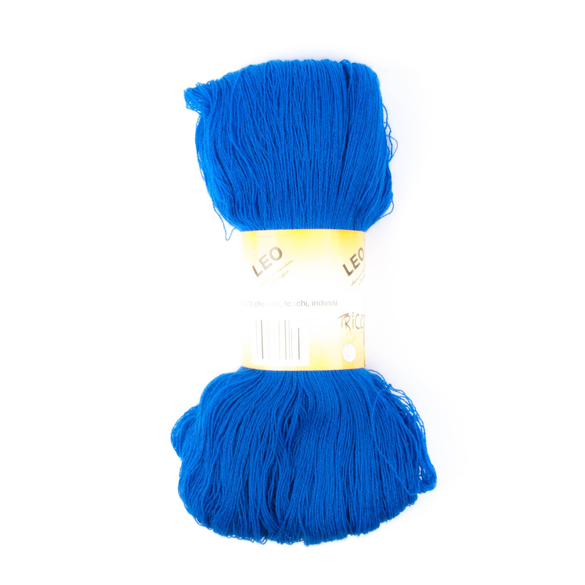 Leo - Matassa misto lana ideale per lavori a mano e macchina - Bluette 22