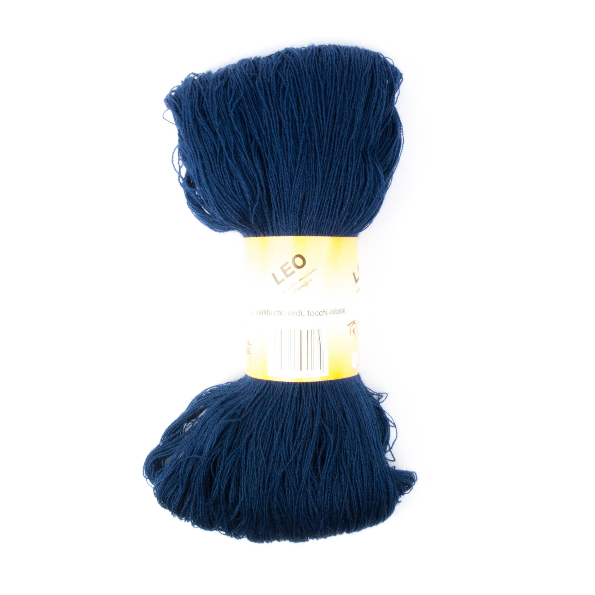Leo - Matassa misto lana ideale per lavori a mano e macchina - Blu Notte 24