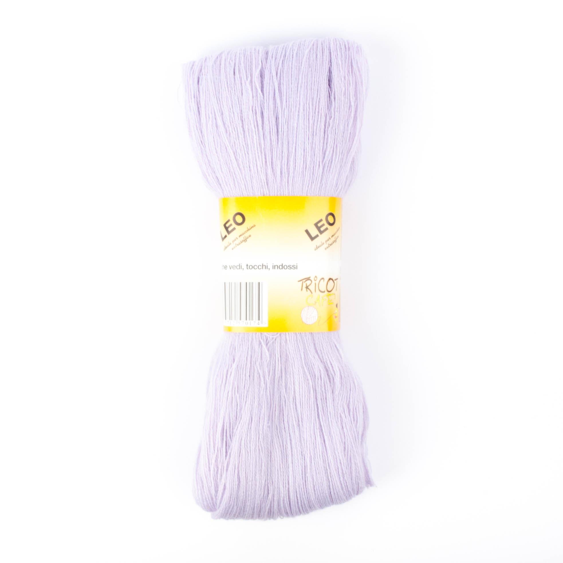 Leo - Matassa misto lana ideale per lavori a mano e macchina - Lilla 34