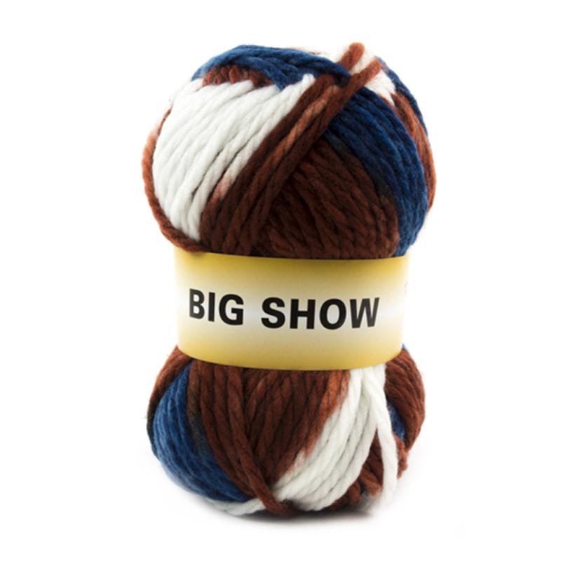 Big Show Bianco-Blu-Bruciato