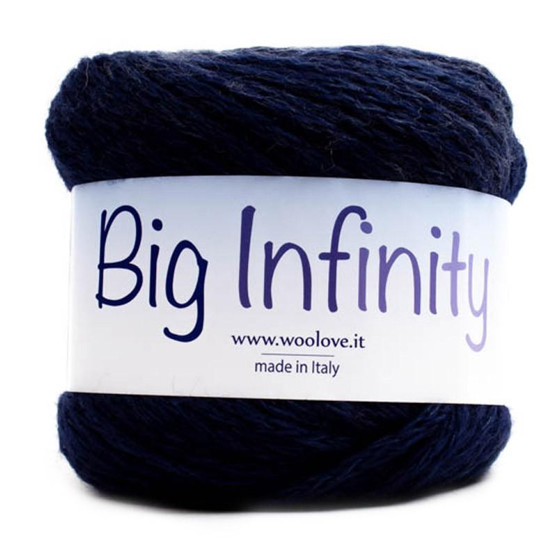 Big Infinity Sfumato Blu-Bianco