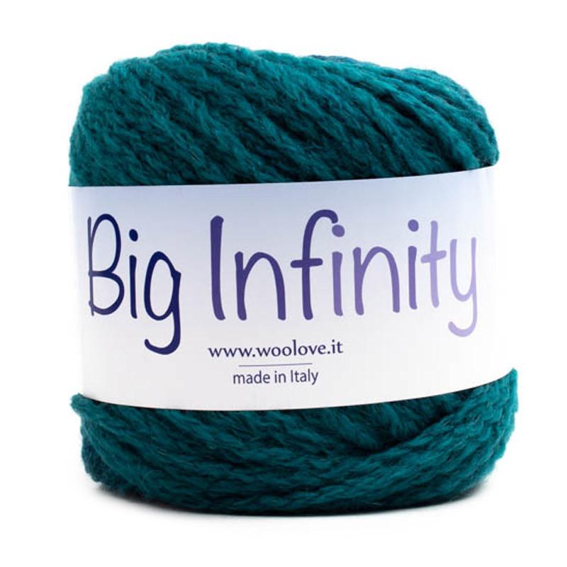 Big Infinity Sfumato Verde-Blu