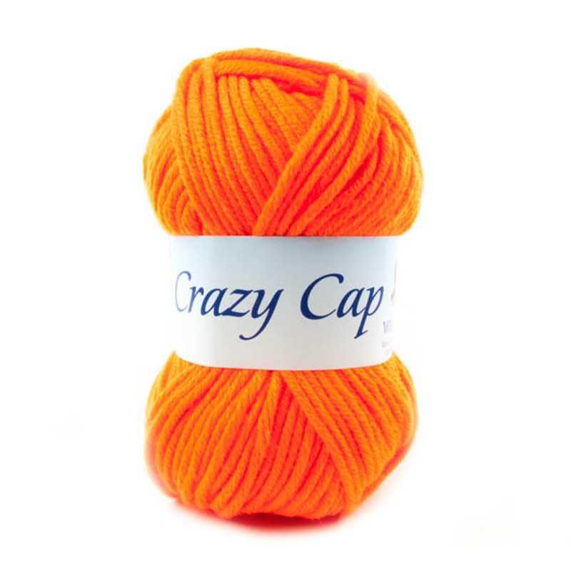 Crazy Cap Arancione Fluo 106