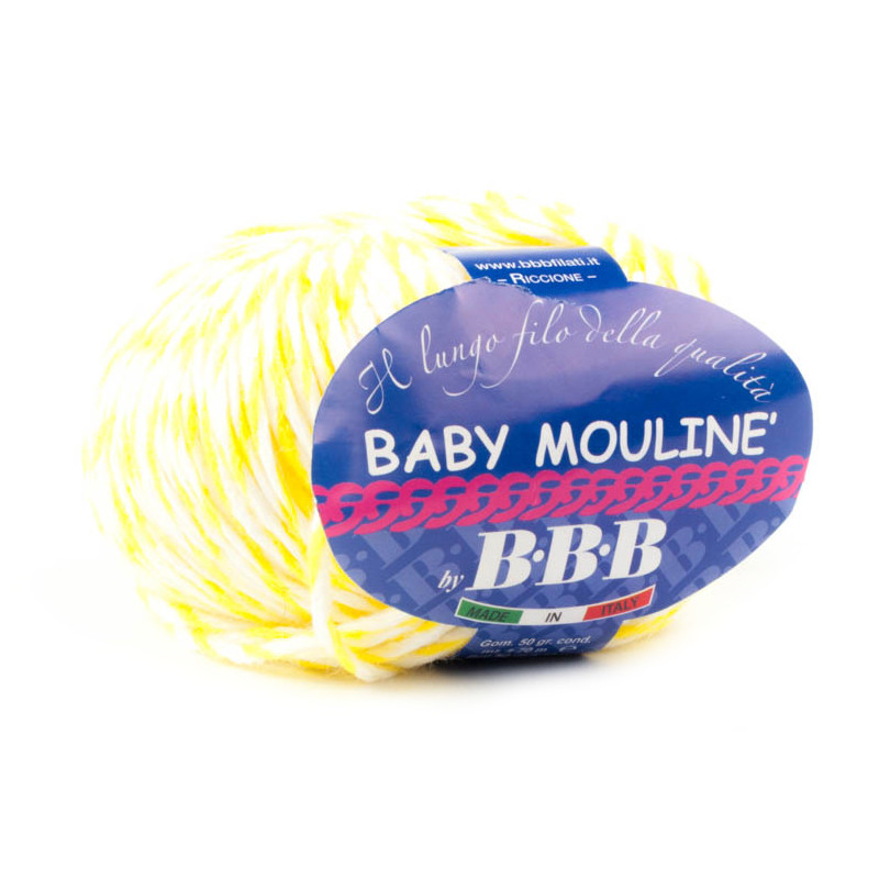 Baby Mouline Giallo-Bianco 2
