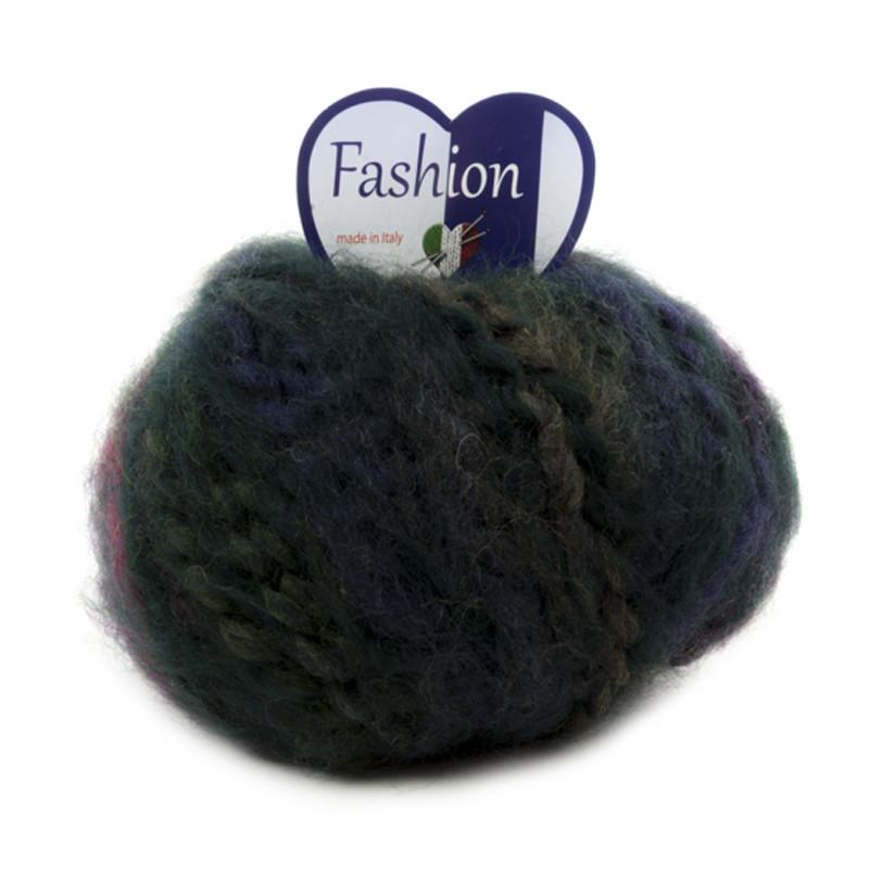 Fashion Verde Scuro-Viola 13